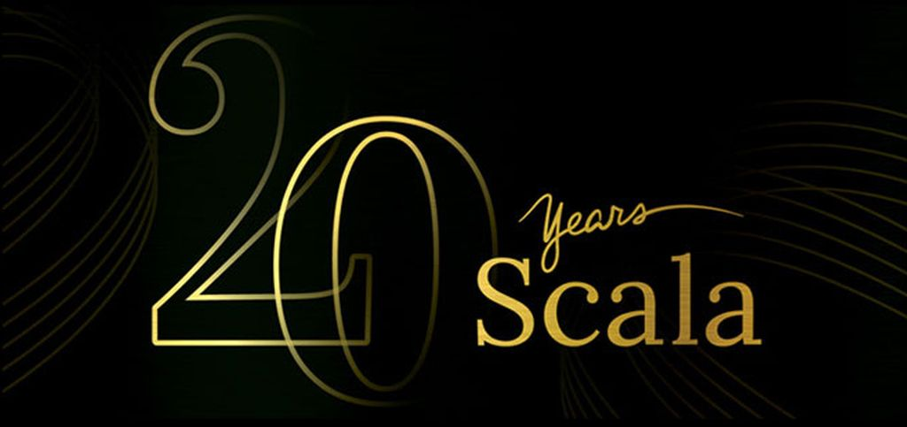 Logo 20 years Scala